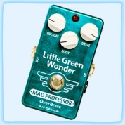 Mad Professor Little Green Wonder Overdrive (Hand Wired)